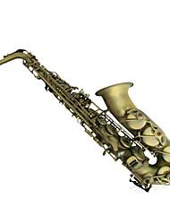 Green Bronze Inferior Smooth Alto Saxophone Tianjin Sachs Intonation Tone