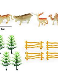 dinosaure jurassique simulation solide modèle animal sauvage mis en décoration jouets de résine statique pour les enfants
