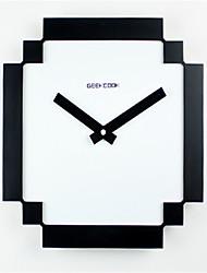 Autres Moderne/Contemporain Horloge murale,Autres Polyester 29*29*8