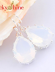 Earring Geometric Drop Earrings Jewelry Women Fashion Wedding / Party / Daily / Casual / Sports 2pcs Silver