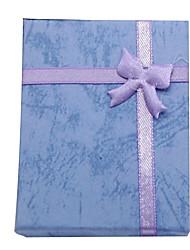 Bogen Ring Halskette Ohrringe Armbänder mit Geschenk-Box Schönheit
