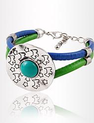 Bracelet Chaîne Alliage Turquoise Femme