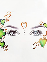New Temporary Eye Tattoo Transfers & Eyeliner Sticker & Eye shadow Sticker Transfer