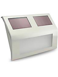 0.5W Lâmpada de LED a Energia Solar 50 lm Branco Quente / Branco Frio LED Dip Decorativa Bateria V 2 Pças.