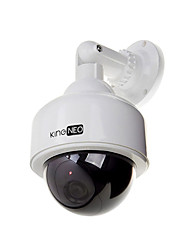 Dummy Speed Dome Camera Simulated outdoor security camera 1pc white
