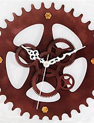 European Style Retro Metallic Wall Clock Gear