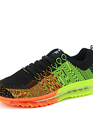 Men's Running Shoes Fabric Green / Gray / Orange