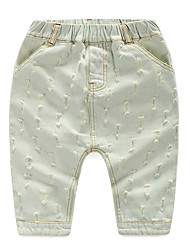 Boy's Cotton Pants,Summer Solid
