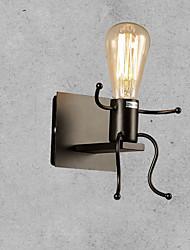 Mini Estilo Candelabro de pared,Rústico/ Campestre E26/E27 Metal