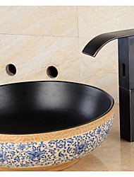 Automatic Touchless Sensor Waterfall Bathroom Sink Vessel Faucet Oil Rubbed Bronze