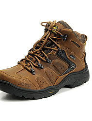 Men's JEEP Hiking Shoes High-top Non-slip Comfortable Climbing Shoes Ankle Sneakers EU38-43