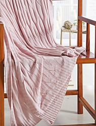"Solid Knitted Blanket Bamboo Fiber  59""*79"""