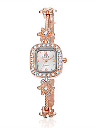 Women's SOXY Love Luxury Brand Quartz Dress Wristwatch Diamond Dial Fashion Bracelet Watches Cool Watches Unique Watches