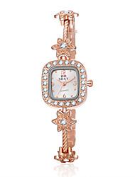 Women's SOXY Love Luxury Brand Quartz Dress Wristwatch Diamond Dial Fashion Bracelet Watches Cool Watches Unique Watches