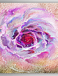 Oil Painting Rose Hand Painted Canvas with Stretched Framed Ready to Hang