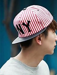 Unisex Cotton Casual Stripe Hip-hop Baseball Outdoor Cap