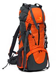 70L Ultra Large Capacity Backpack Waterproof Double-shoulder Nylon Knapsack Camping/Hiking/Travelling Sports Bag