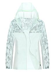 Trilha Blusas Mulheres Alta Respirabilidade (>15,001g) / Resistente Raios Ultravioleta / A Prova de Vento / Materiais LevesPrimavera /