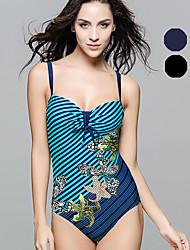 Damen Bikini / Einteiler - Boho / Push-Up Nylon / Elasthan Halfter