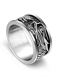 Wide Version Of The Dragon Restoring Ancient Ways Ring Christmas Gifts