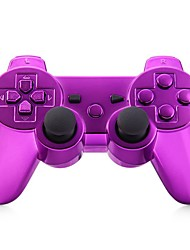 consola Bluetooth jogo gamepad sem fio para goldplated ps3 (multicolor)