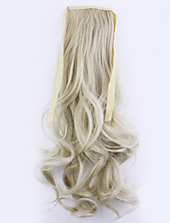 Golden Length 50CM Factory Direct Sale Bind Type Curl Horsetail Hair Ponytail(Color 24/60)
