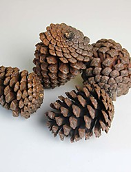 "3.6"" A Pack Of Four Artificial Plants Pinecone Christmas Tree Decoration European Style 4pcs/set"