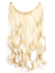 Wig Golden 45CM Synthetic High Temperature Wire Curly Hair Piece Color 22/613