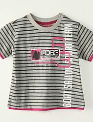 Tee-shirts Boy Rayé Eté Polyester