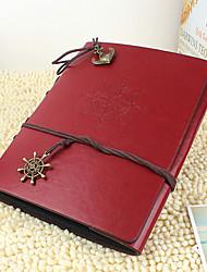 diy 20 * 28 cm album couverture en cuir à la main photo scrapbook 30pcs papier noir pour la famille / bébé / amateurs / cadeaux rouge /