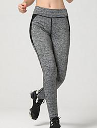 Damen Laufhosen Atmungsaktiv Weich Videokompression Sanft Leggins Unten für Übung & Fitness Laufen Schwarz S M L XL
