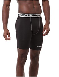 Running 3/4 Tights / Leggings / Bottoms Men's BreathableCamping / Hiking / Exercise & Fitness / Racing / Leisure Sports / Basketball /
