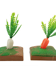 Micro Landscape  Sand Table Model Simulation Tree Plant Resin Ornaments And More Meat Mini Gardening 100Pcs
