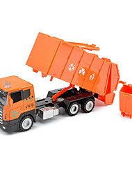 Children's toy car truck 1:48 back of alloy car model toy excavators 1:55 water gun carriage (9PCS)