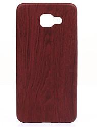 bois mince ajustement mince et parfaitement doux cas de téléphone en cuir pour galaxie a310 / a510 / a710 (2016)