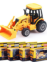 Dibang - authentic children's educational model 1:64 alloy construction vehicles toy car (4PCS)