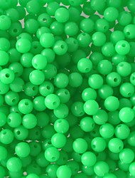 Various Sizes Fishing Luminous Beads Round Shaped Terminal Fishing Accessories Floating Plastic Fishing Beads