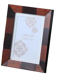 5 * 7 * 1 madeira maciça estilo europeu / americano Vintage picture frame