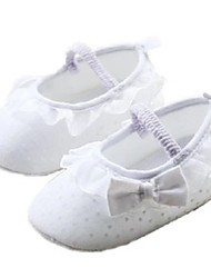 Girl's Flats Summer Comfort Cotton Outdoor White