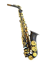 Alto Sax black nickel gold key
