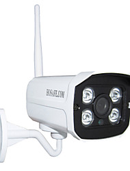 HOSAFE SV1MB1W 720P Wireless Outdoor HD IP Camera w/ Motion Detection, E-mail Alert, Waterproof, 4-LED IR Night Vision