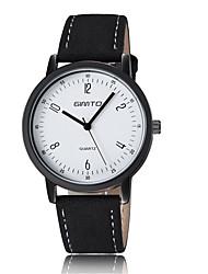 Men's Classic Dress Watch Sport Quartz Analog Wrist Watch PU Band Fashion Watch(Assorted Color) Cool Watch Unique Watch