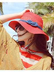 Big Straw Ms. Summer Hand-woven Bohemia Travel Beach hat