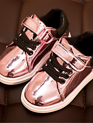 Girl's Sneakers Spring Comfort Leatherette Outdoor Pink Red Gold