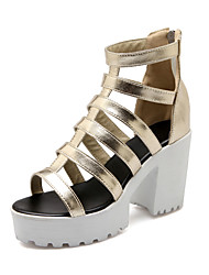Women's Shoes Chunky Heel Peep Toe Gladiator Sandals More Color Available
