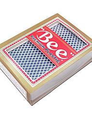 пулек пластиковые карточки вибраторы синий (1 пара)