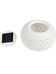 1 W RGB Solar Wasserdicht / Abblendbar / Wiederaufladbar Nächtliche Beleuchtung / LED-Solarleuchten <5V V ABS