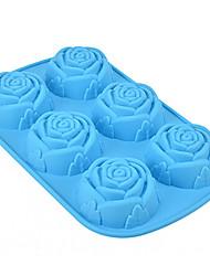 Moule de Cuisson Fleur Pour Gâteau For Chocolate Pour Tarte Pour Cookie Silikon Ecologique 3D La Saint Valentin