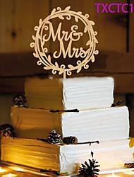 Украшения для торта Персонализированные не Монограмма Смола Свадьба Желтый Бабочки 1 Пенополиуретан