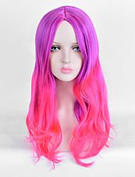 ломбера парик дешевого способа верхнего качества синтетический двухцветные париков